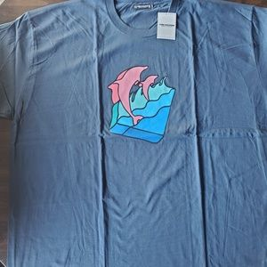 Pink dolphin tshirts 3xl brand new with tag